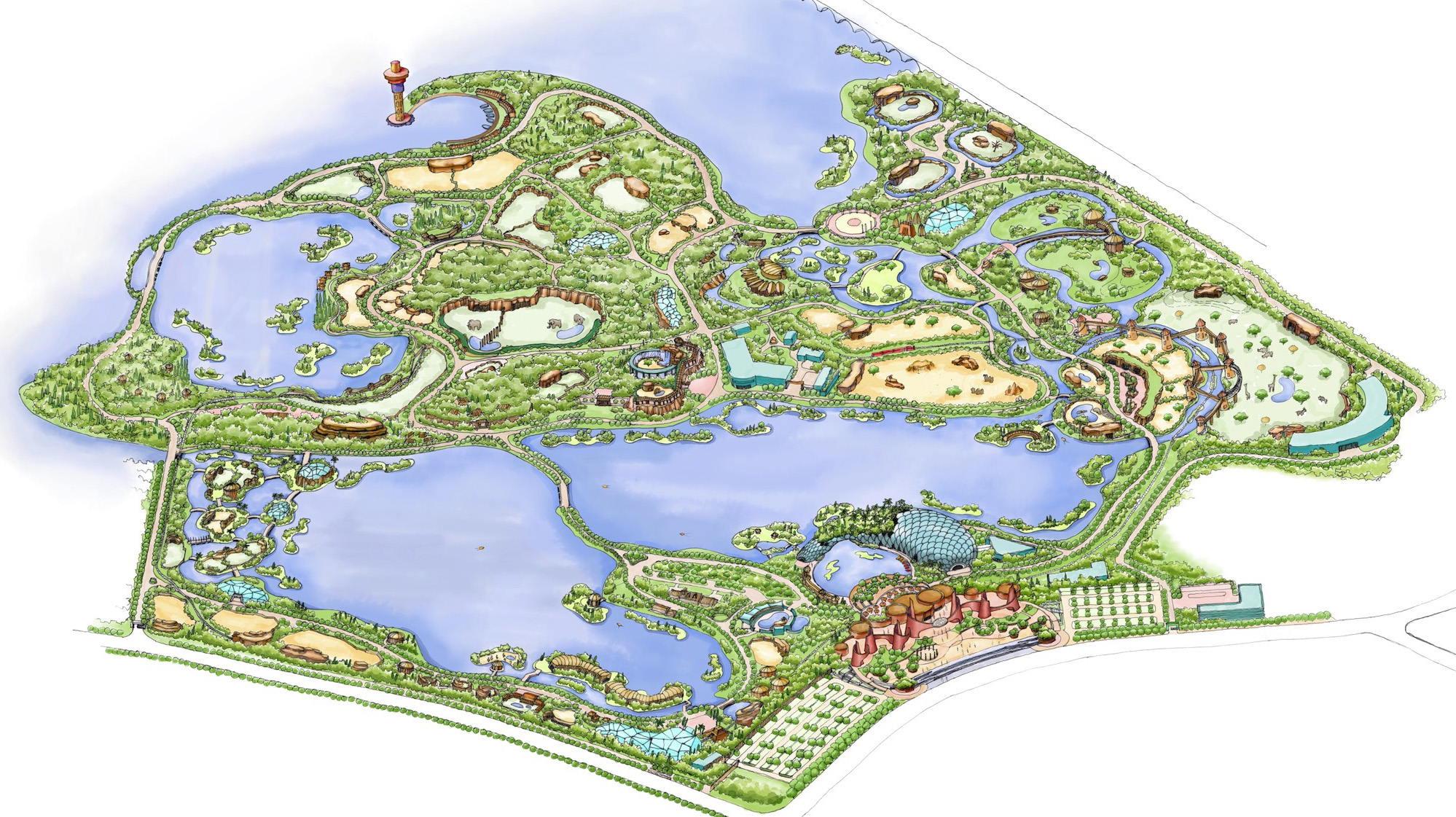 WUHAN ZOO <strong>| Master plan for a whole new wildlife park in China</strong>