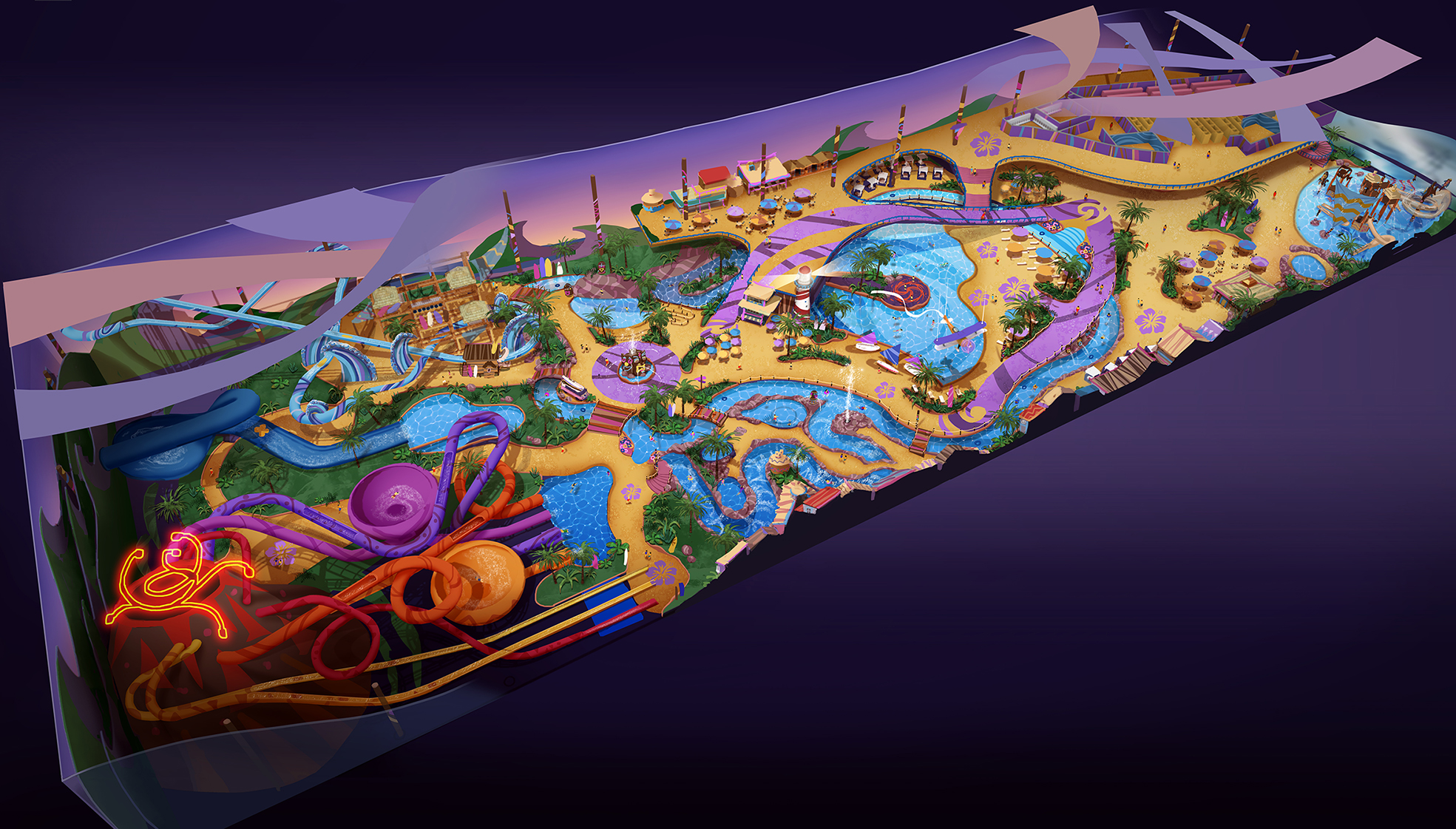 WANDA HEFEI WATER PARK <strong>| Master planning of 3-hectare (7.4 acre) water park</strong>