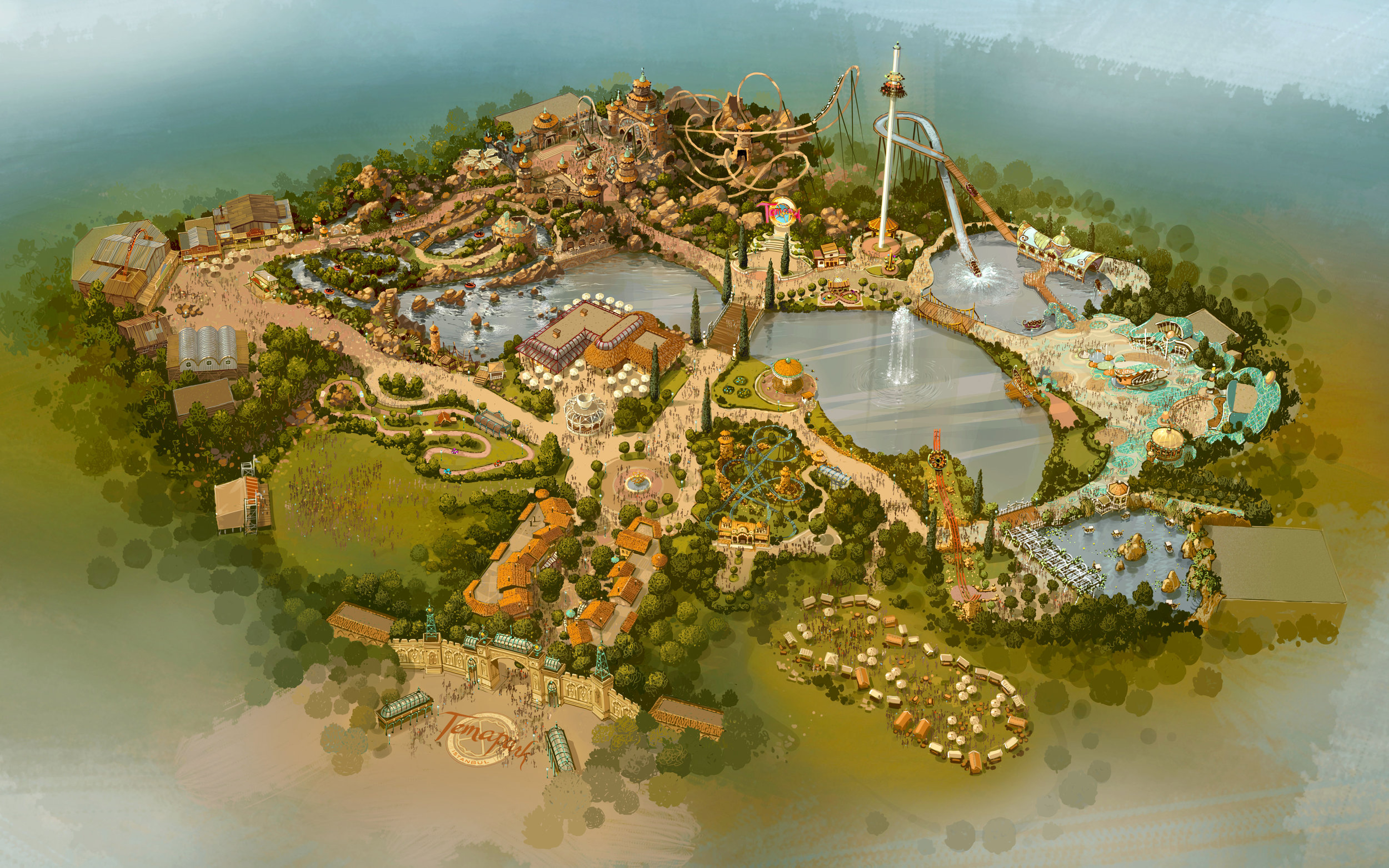 TEMA ISTANBUL <strong>| A locally-flavored theme park in Istanbul, Turkey</strong>