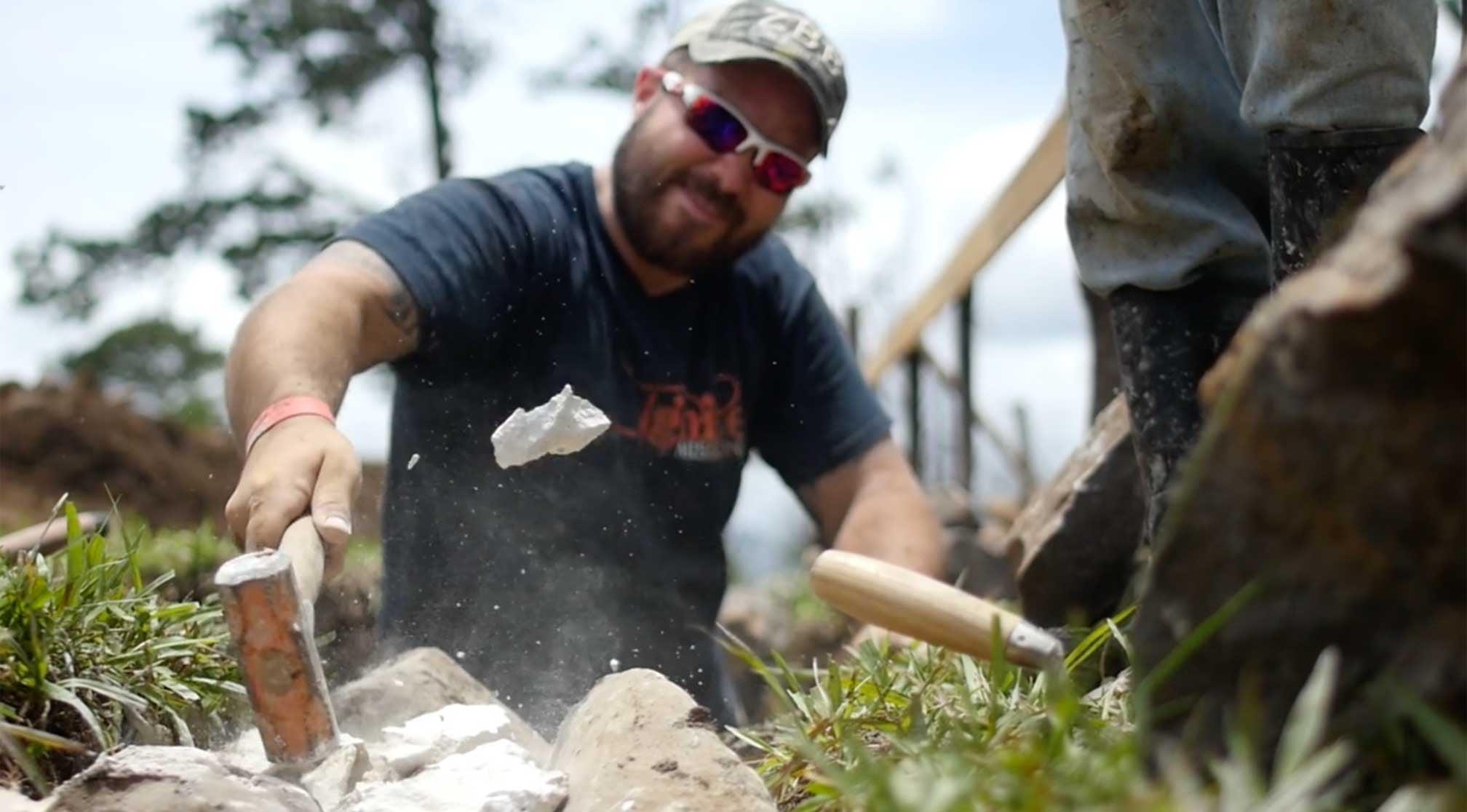 Building Men Through Construction