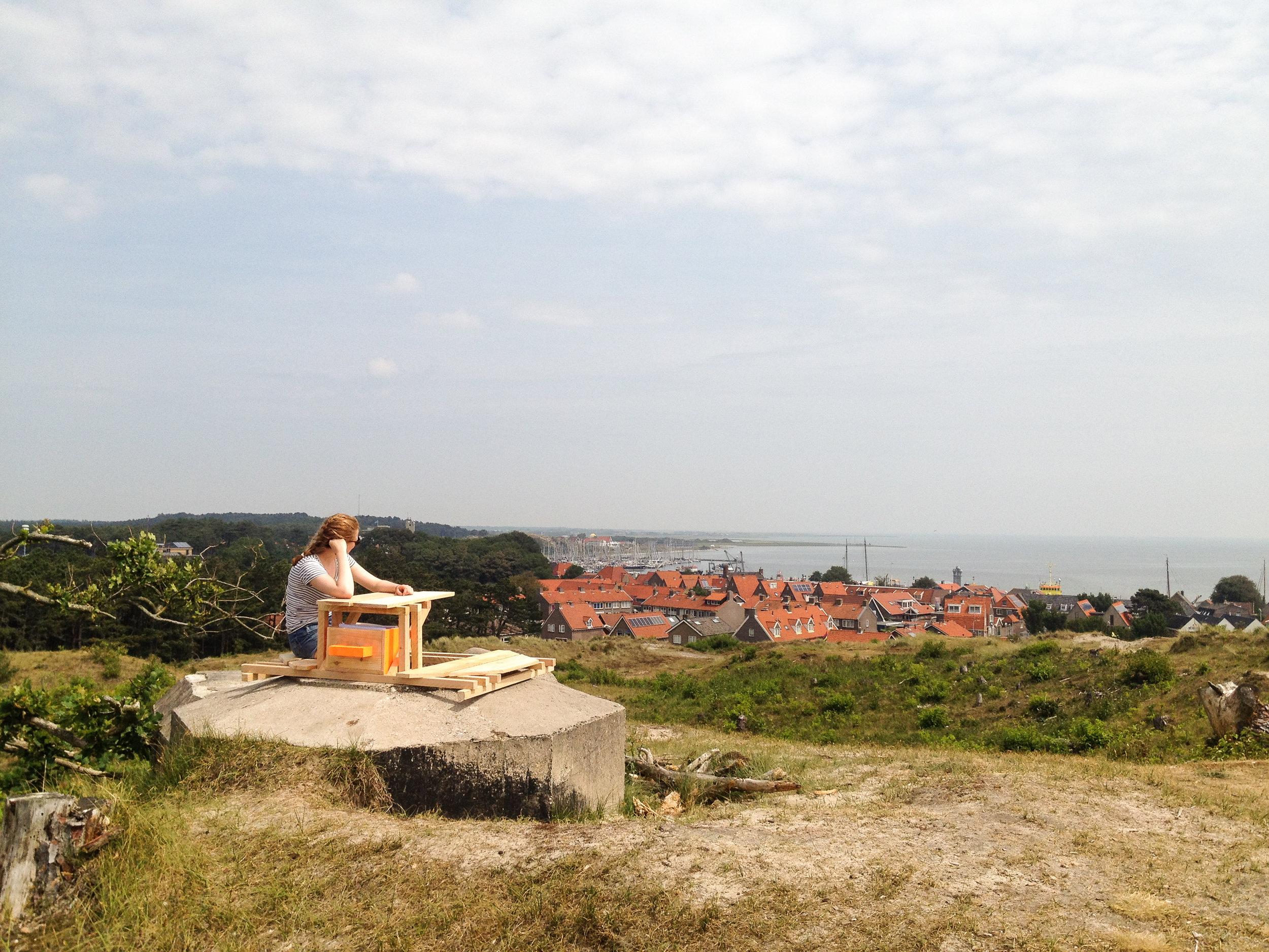Met uitzicht over West Terschelling