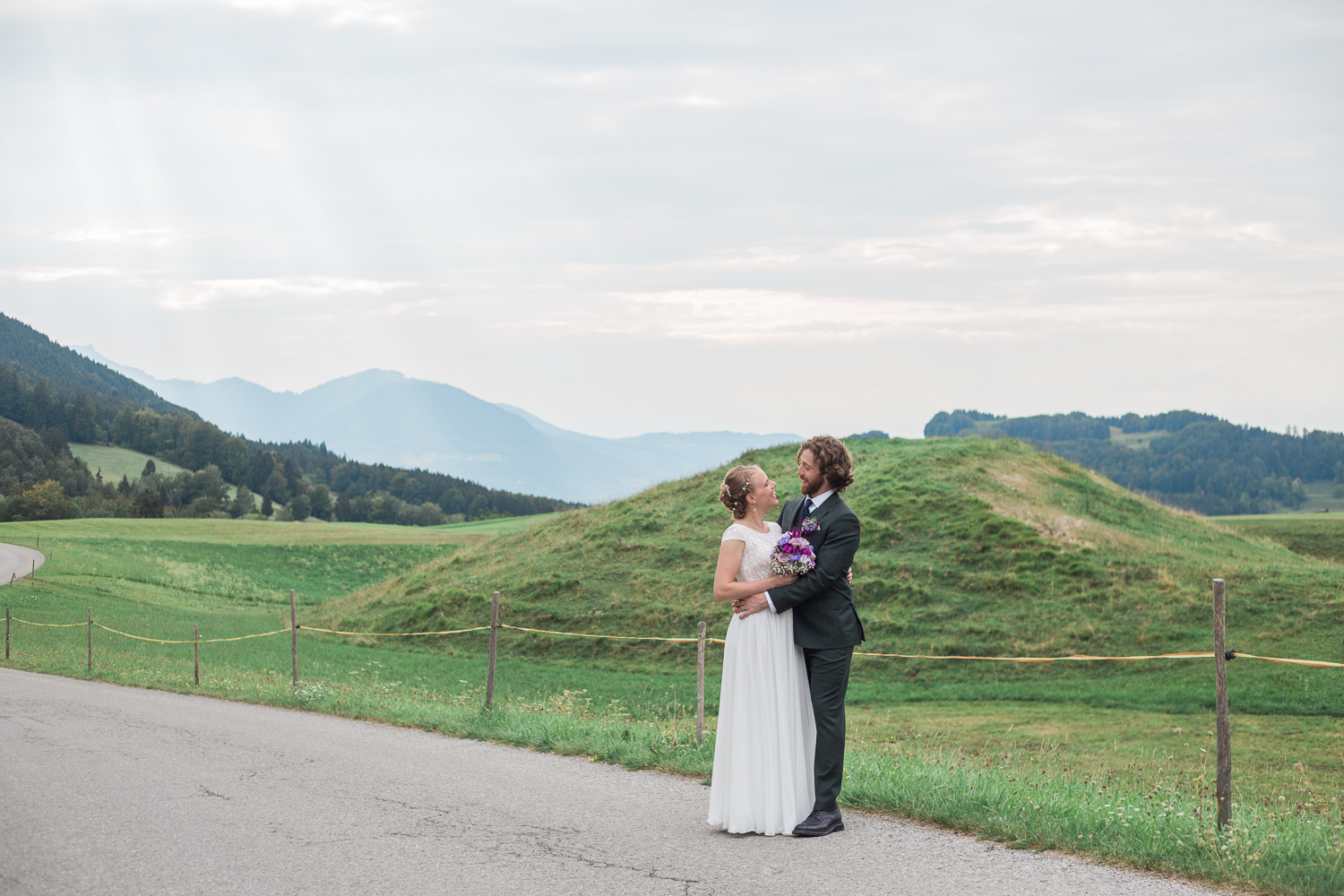 Click over to see more of this summer, Bavarian destination wedding.