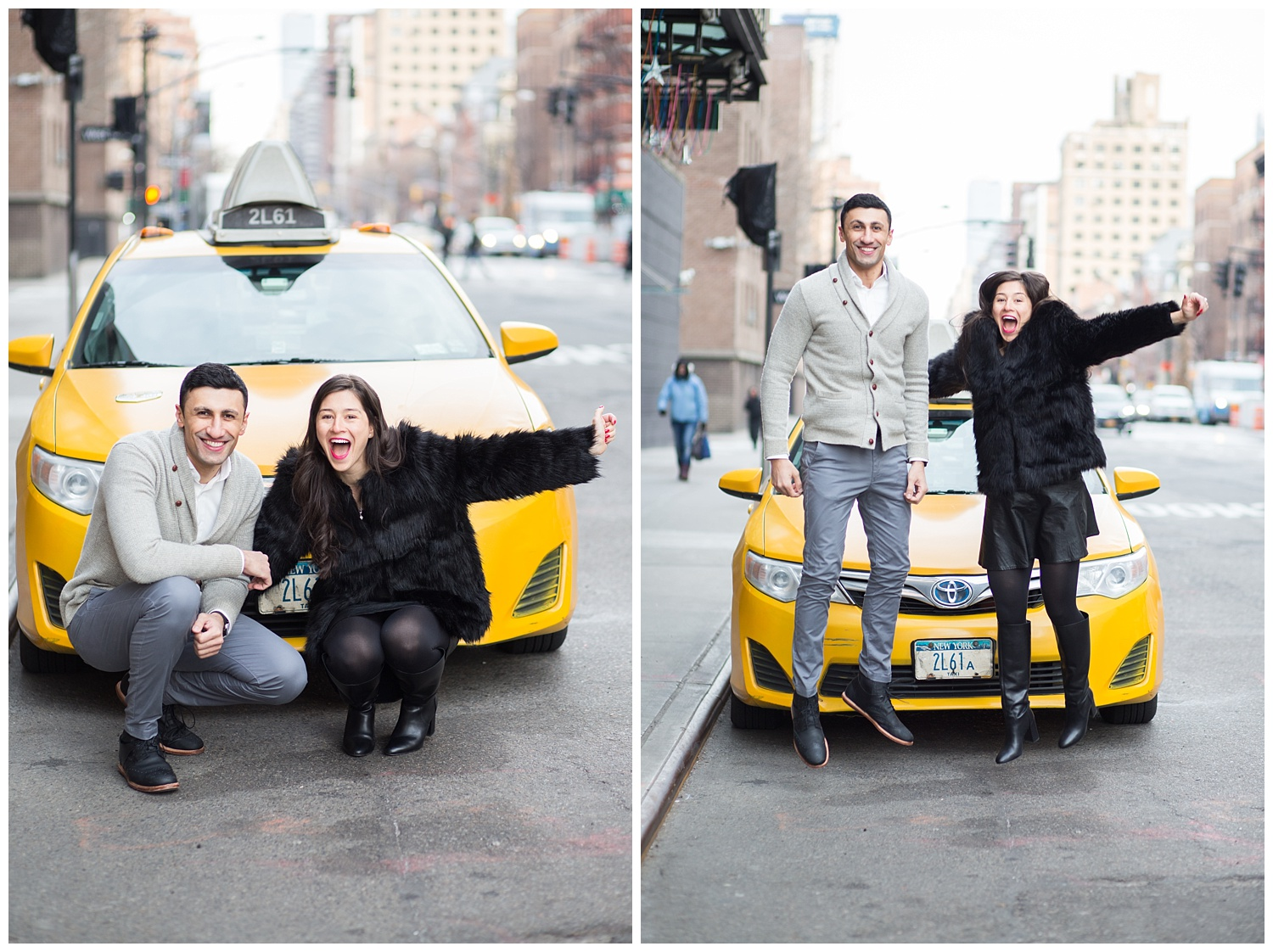 Click over to see more from this early morning Chelsea Market engagement session.