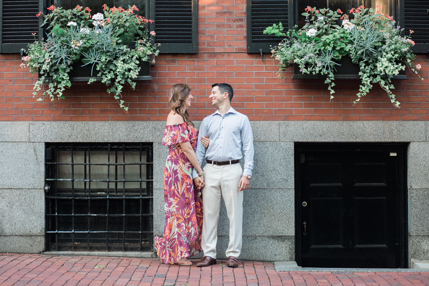 A peek at Nikki and Jordan's summer, Beacon Hill engagement session