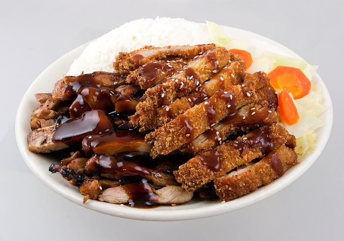 Chicken with Tonkatsu