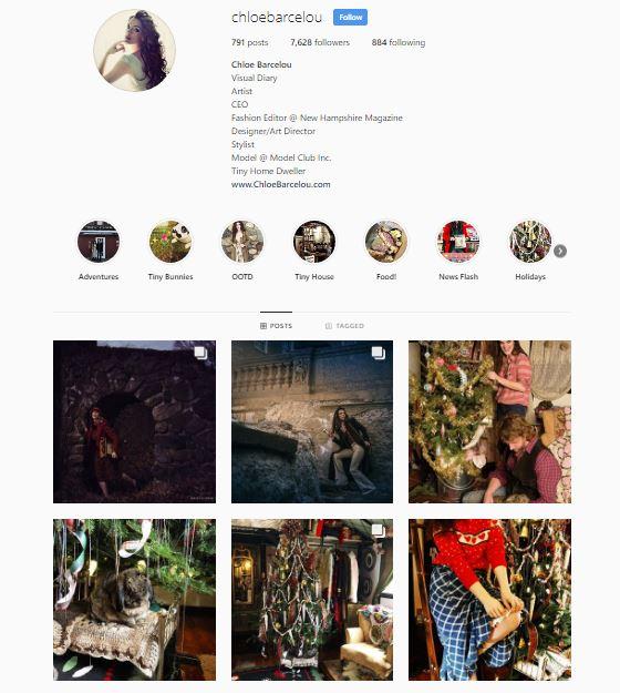 Follow Chloe on Instagram -