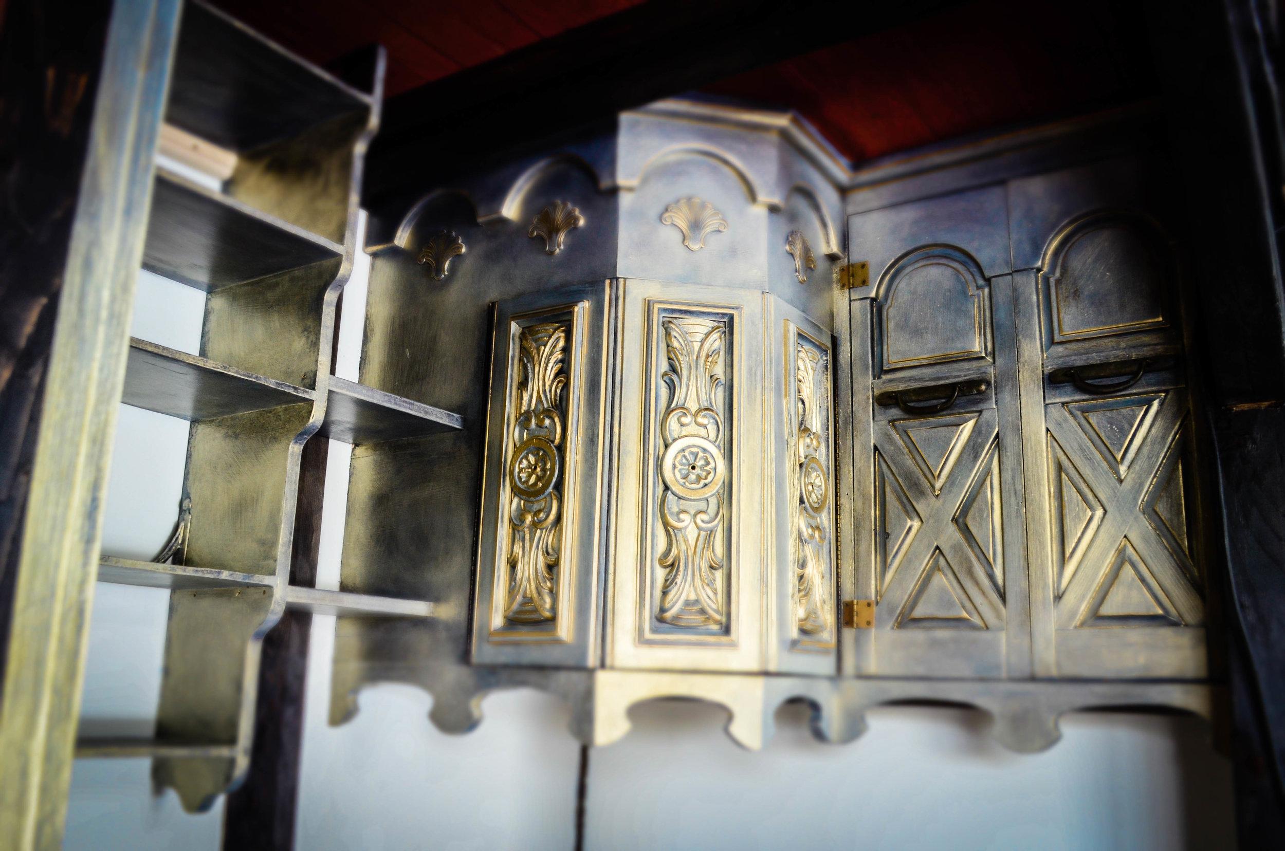 Salvaged Interior Construction -