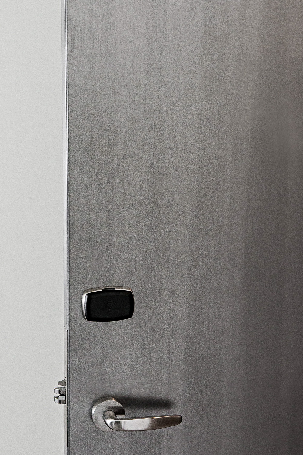 keyless entry door