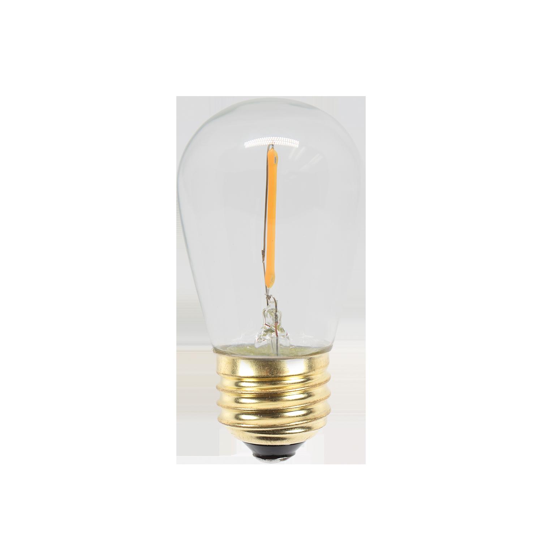 "12V LED S14 CLASSIC ""SIGN LAMP"" SHAPE BULBS COB    PP-LED-S14-12-WW (warm white)    PP-LED-S14-12-PW (pure white)"
