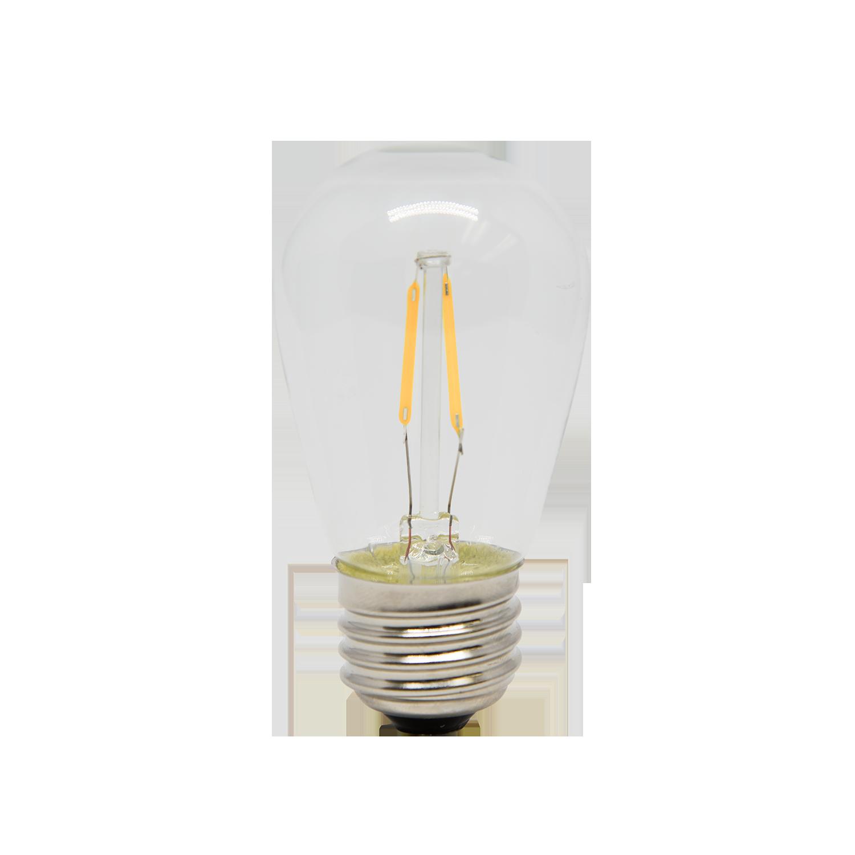 "120V LED S14 CLASSIC ""SIGN LAMP"" SHAPE BULBS COB    PP-LED-S14-WW (warm white)    PP-LED-S14-PW (pure white)"
