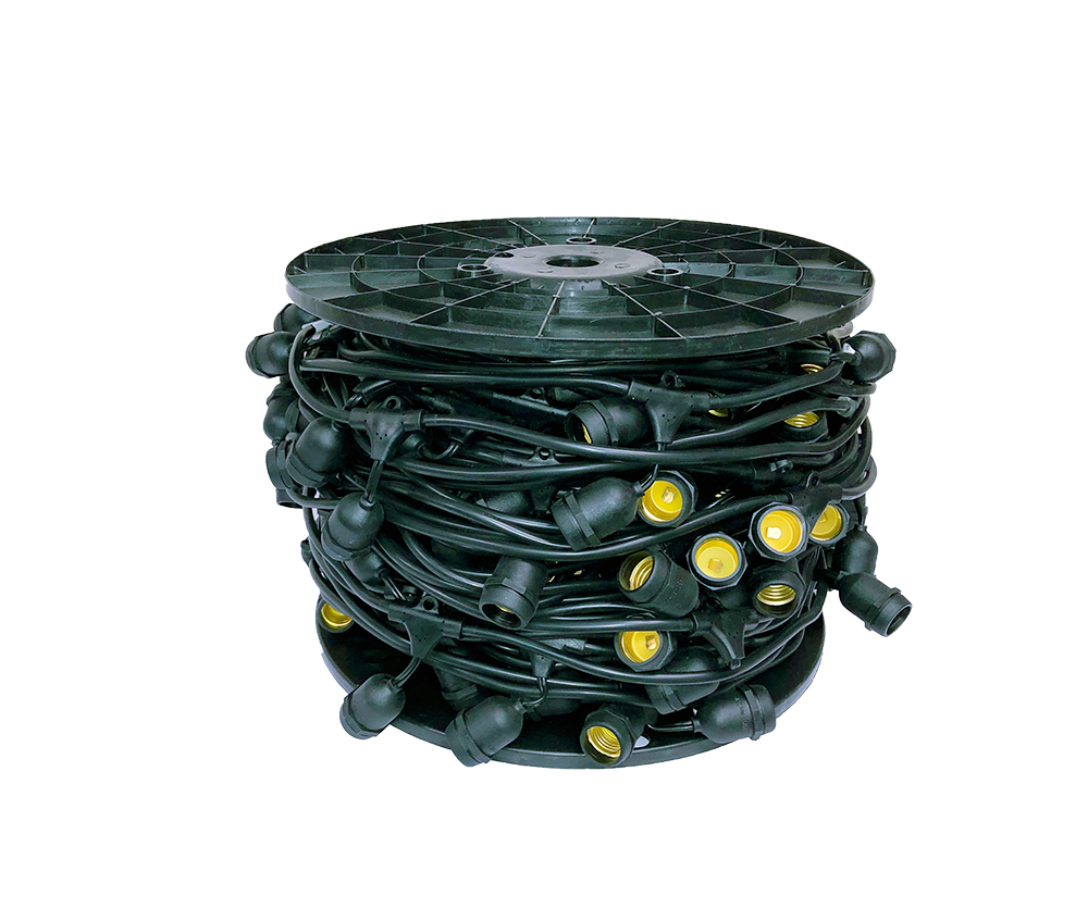 """12V PATIO LIGHTING WIRE - 24"""" SPACING - 330'    PP-E26S-165L"""