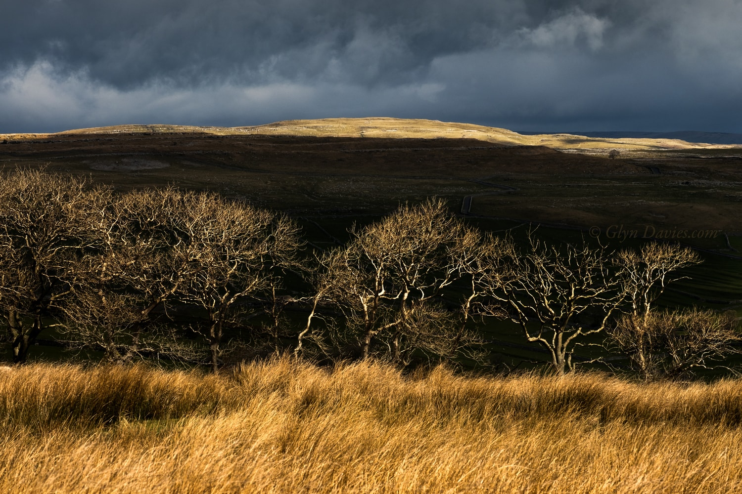 """Hidden Between Shadows"" - Malham moorland, Yorkshire Dales - Fujifilm X-Pro2"