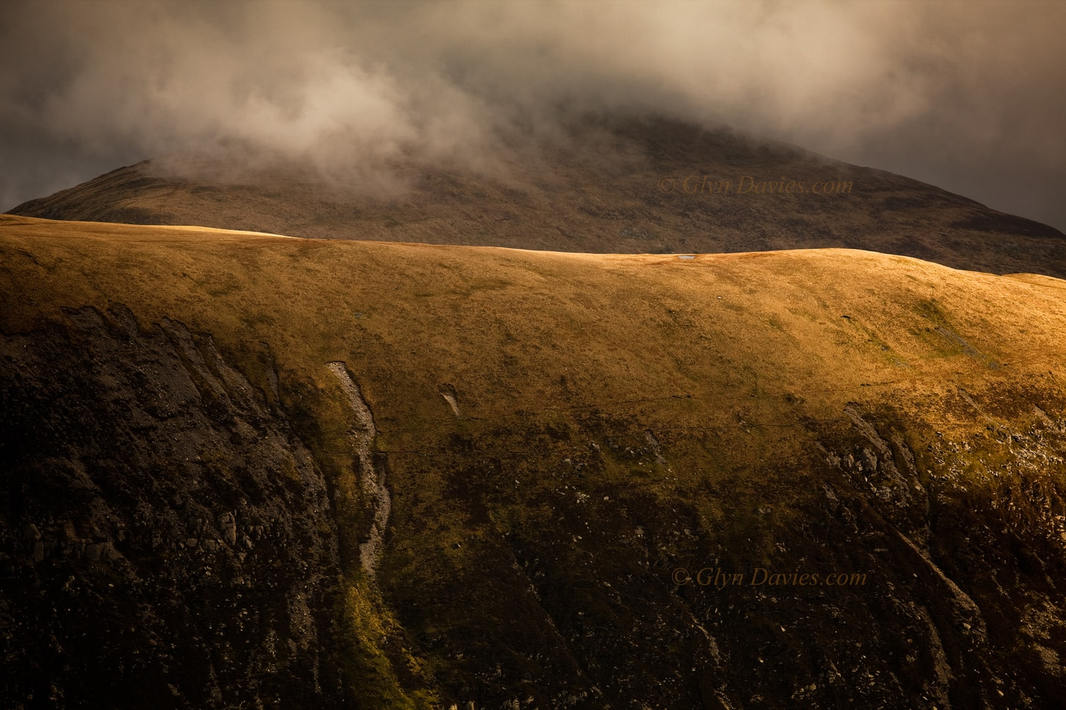 """Temptation"" - Skin-like mountainside, Snowdonia, Wales -  Canon 1DSmk3"