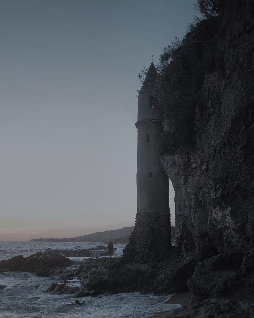 La Tour (The Tower) in Laguna Beach, CA -  Fujifilm X100S