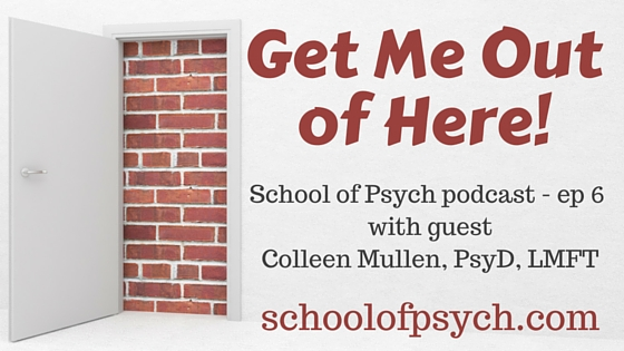 School of Psych podcast | Jared DeFife, Ph.D. | Psychology podcast | Colleen Mullen | Chaos