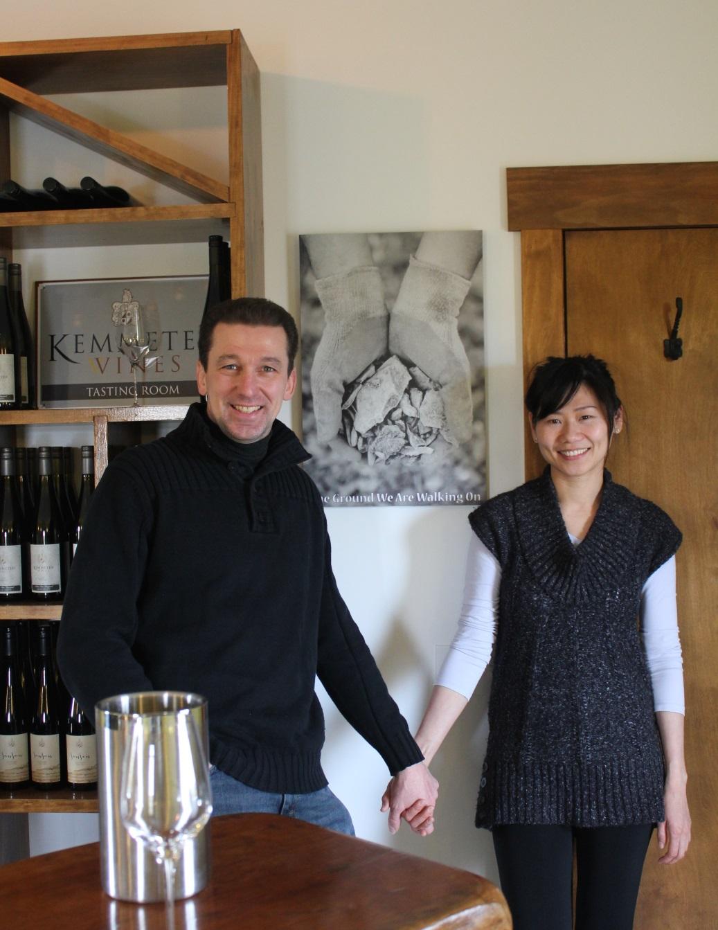 Johannes and Imelda Reinhardt