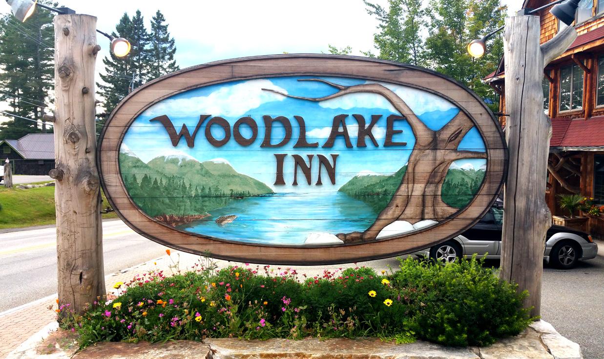 At the Woodlake Inn, Lake Placid