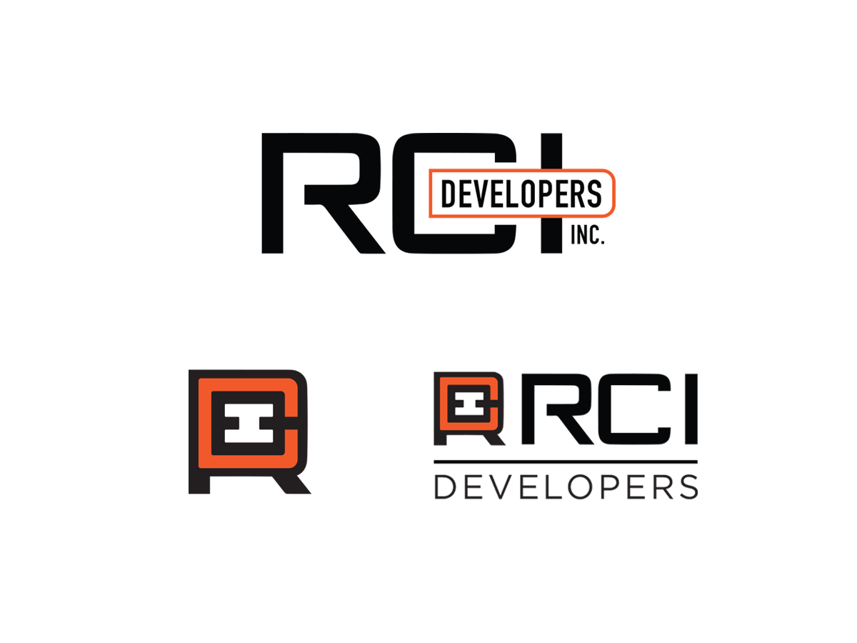 RCI Developers logo system
