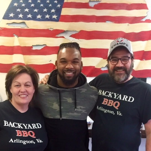 MJ Stewart #36 Tampa Bay Buccaneers - hometown hero/class act . Great to see you . Thanks for stopping in .