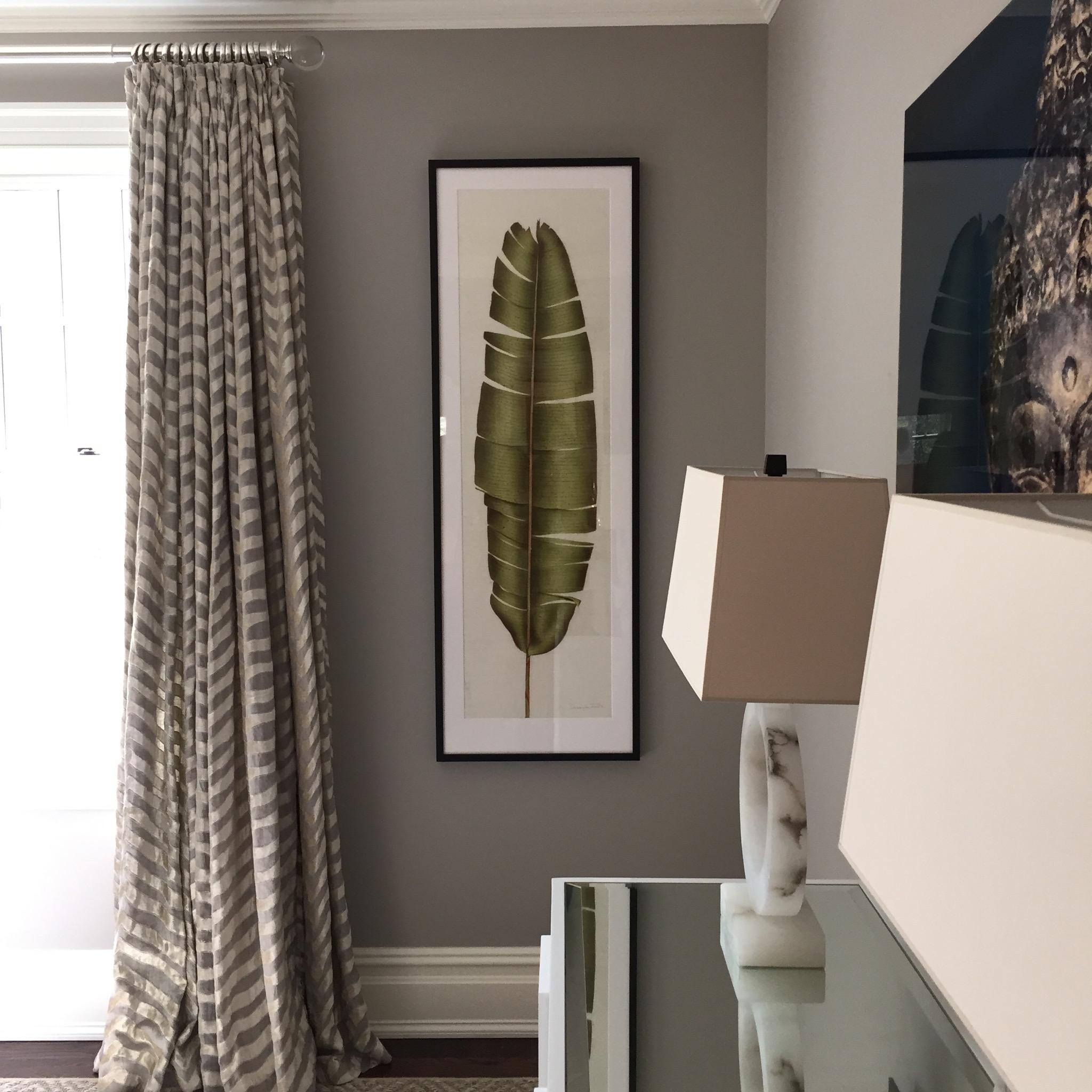 Westport, CT, Sam Allen Interiors - Artwork by Deborah Falls