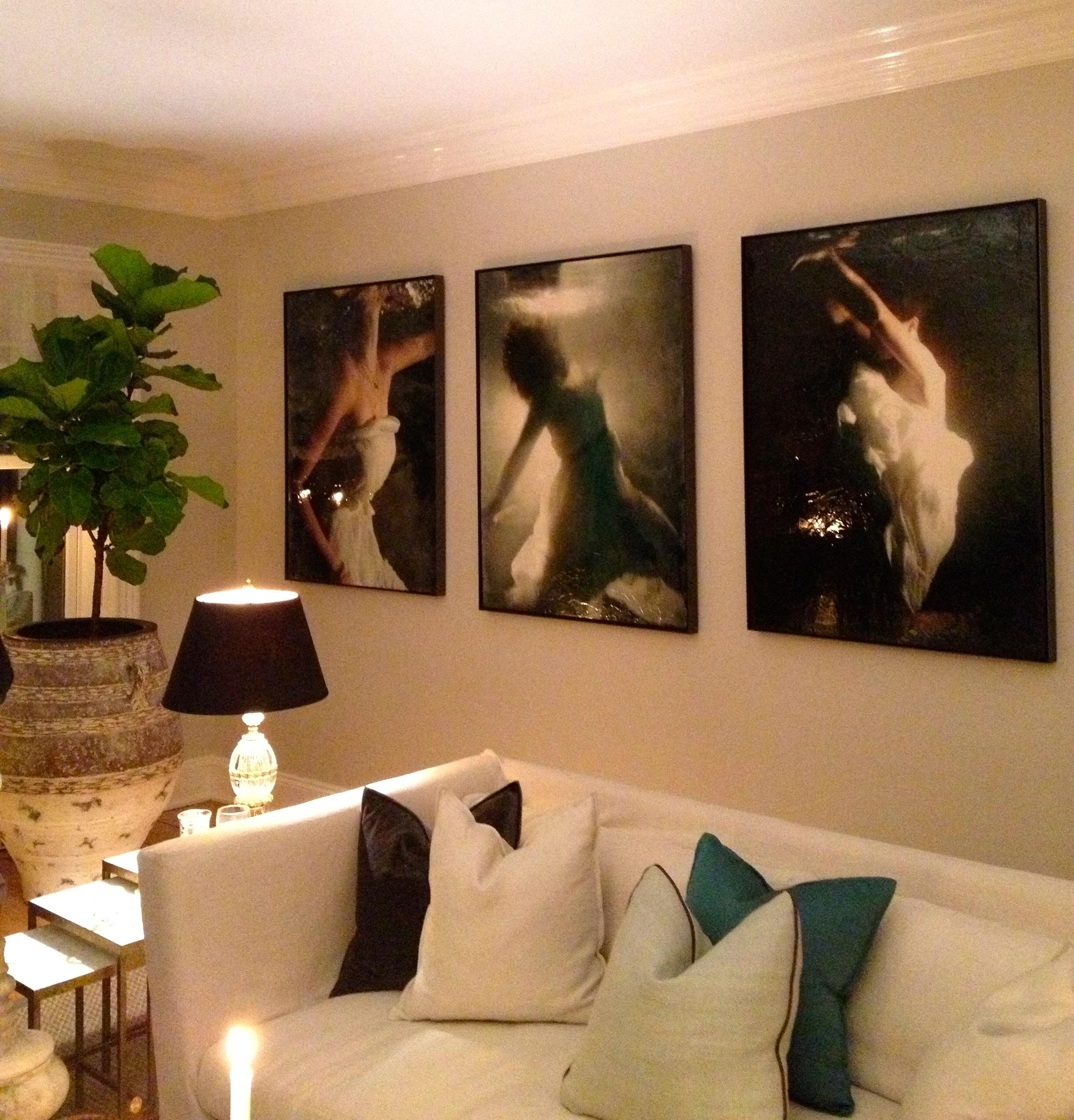 Rye, NY, Heiburg Cummings Interiors - Artworks by Andrea Bonfils