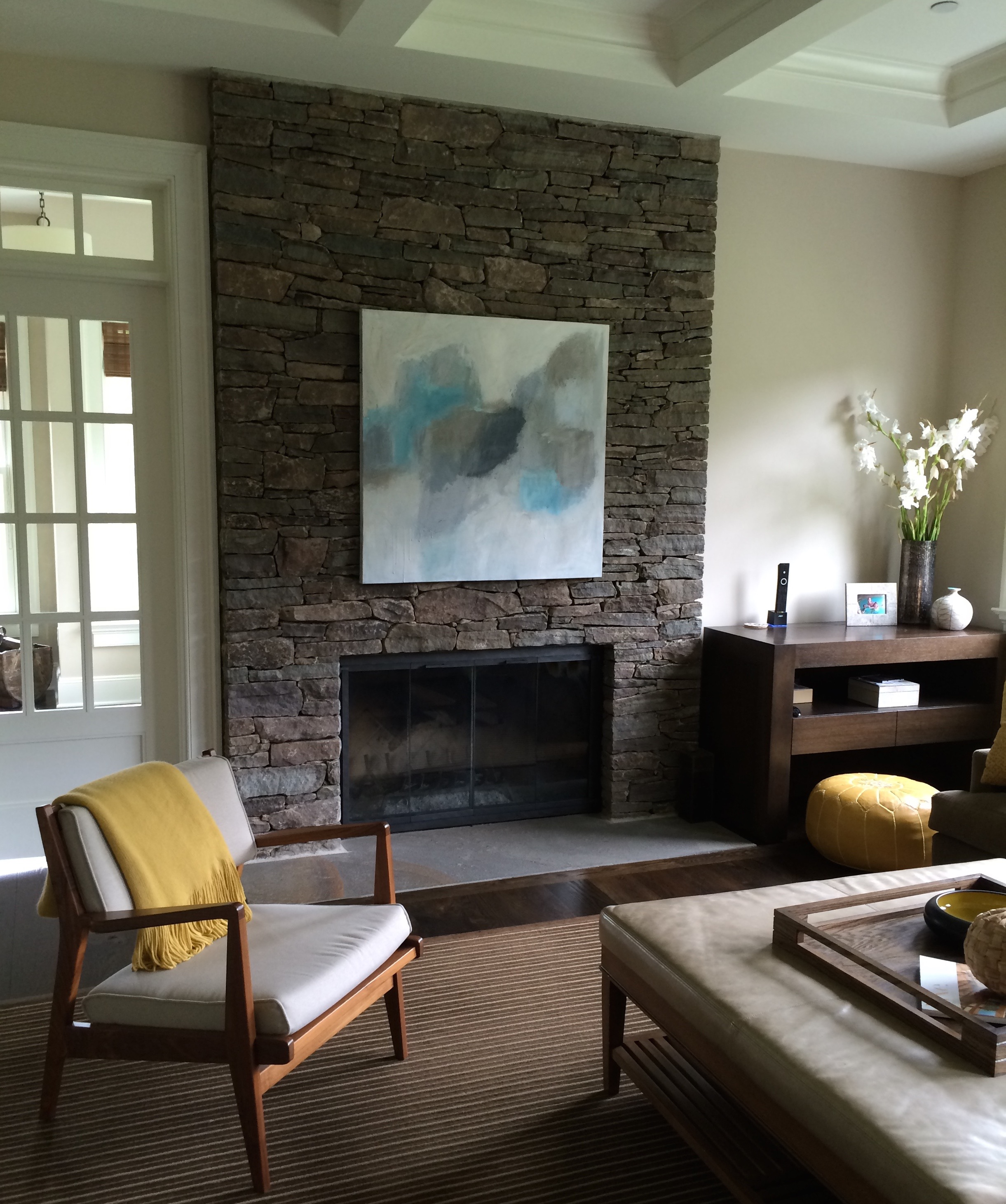Chappaqua, NY, Maggie Nielsen Interiors - Commissioned Artwork by Kerri Rosenthal