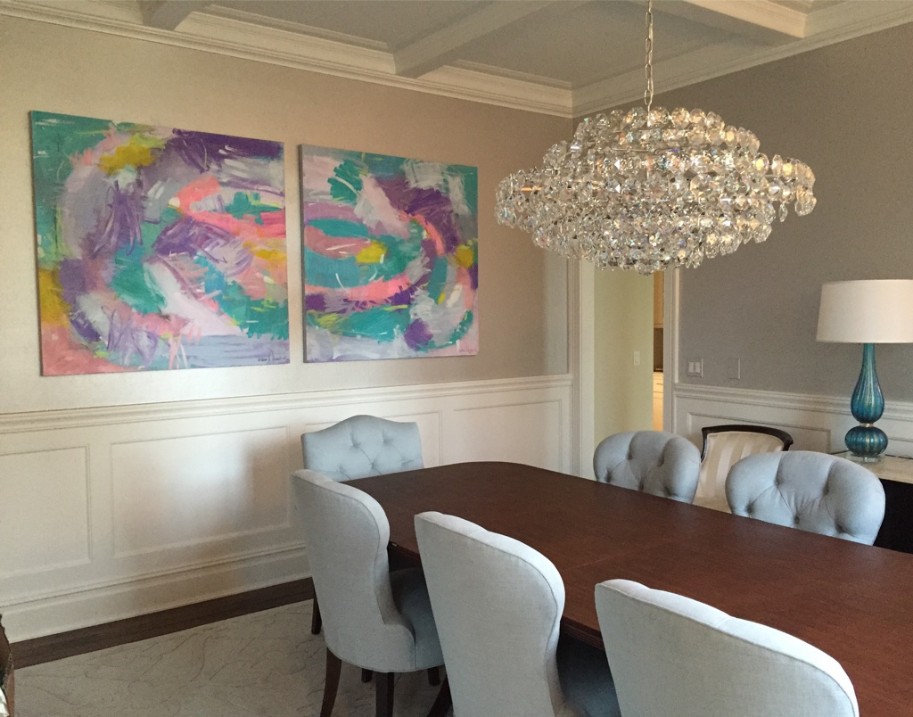Armonk, NY - Commissioned Artworks by Kerri Rosenthal