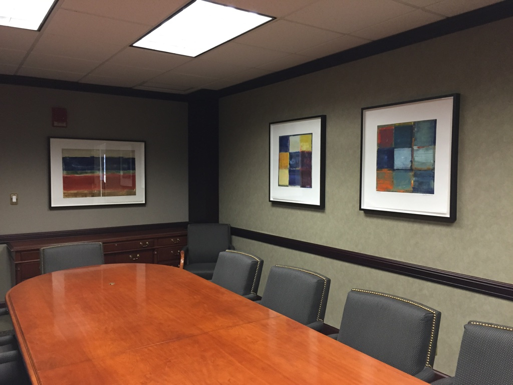 Law Office, White Plains, NY - Artworks by Anne Raymond