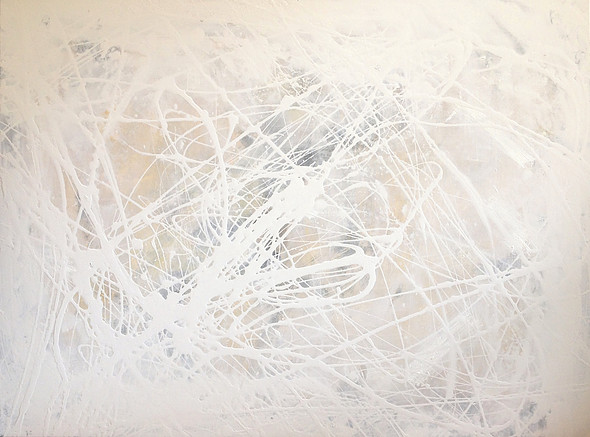 String Theory Diptych by Meighan Morrison