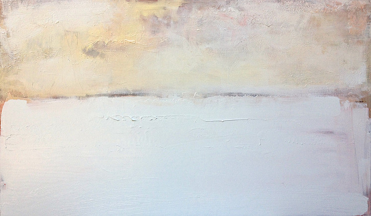 Silence and Snow  38 x 60