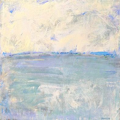 Lavender Landscape  48 x 48