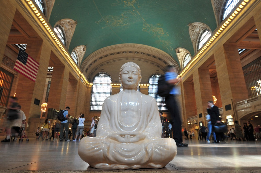 Buddha and Grand Central,  by Kit Kittle Photography