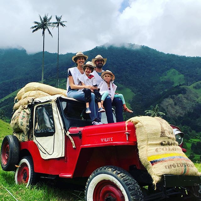 """The real voyage of discovery consists, not in seeking new landscapes, but in having new eyes.""-Marcel Proust⁣ ⁣ Seeing Colombia through the 👀 of my children this past year was indescribable.  The questions they asked and the details they noticed are exactly why I chose to leave everything behind. ⁣ ⁣ It amazes me that most days they reference something regarding our #radicalsabbatical. 🌎⁣ ⁣ We are so blessed to forever have those memories to share together. ☀️⁣ ⁣ #seetheworld #showthemtheworld #visitcolombia #travelquote #travelfamily #travellife #imatourist #poncholove #poncho #babyponcho #manponcho"
