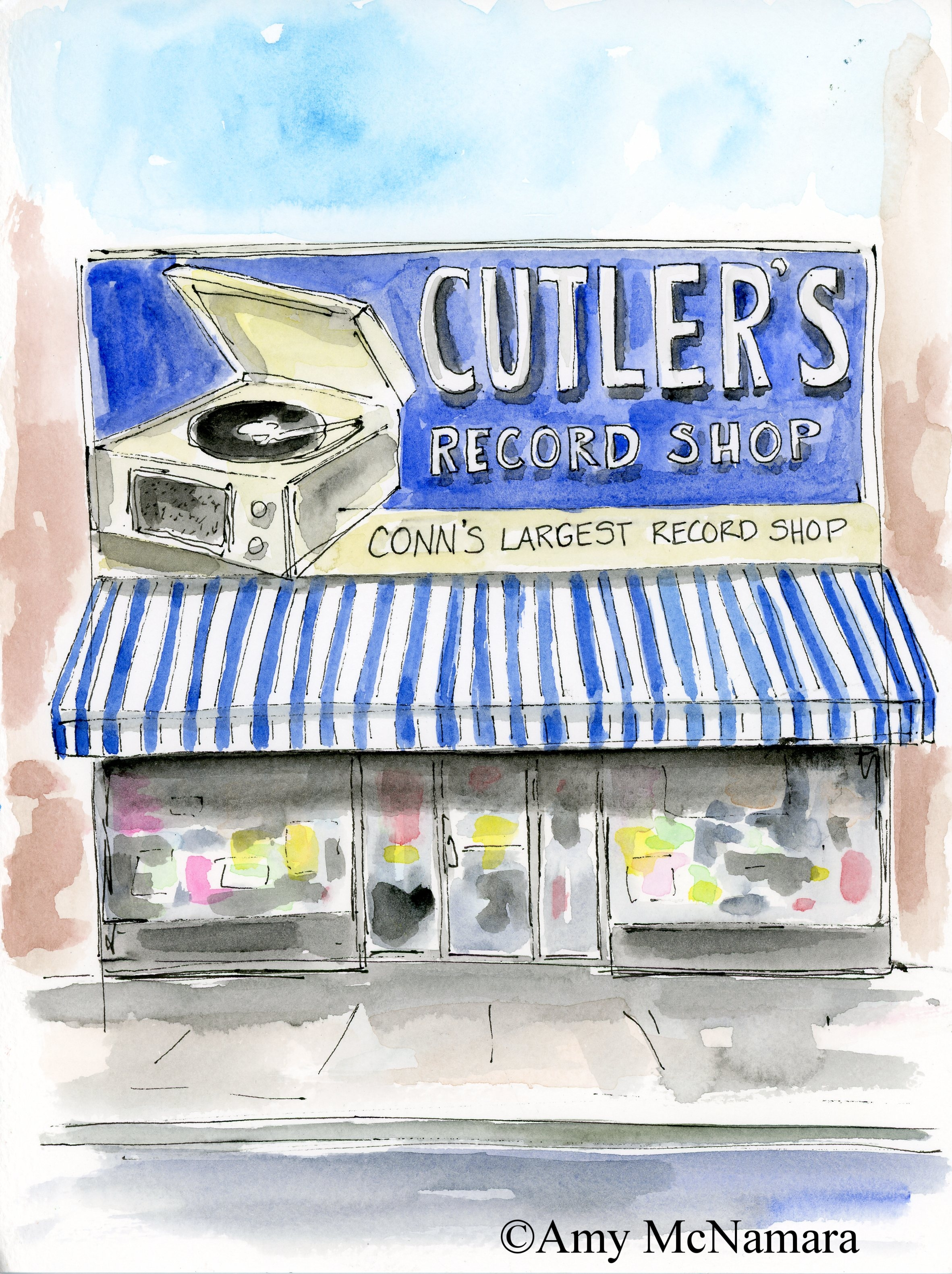 Cutlers Record Shop • New Haven, CT