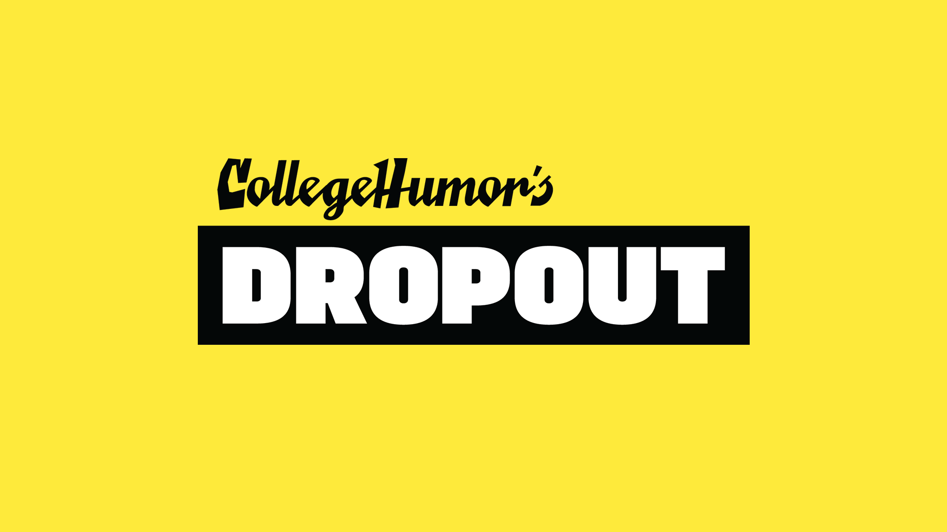 "Click here to download College Humor's new app, Dropout.  They hired me to write two Chat Stories (stories told through the text messages of the characters in them). I created: ""39 Years of Rory and Dylan"" and ""A VeryGood Home."""