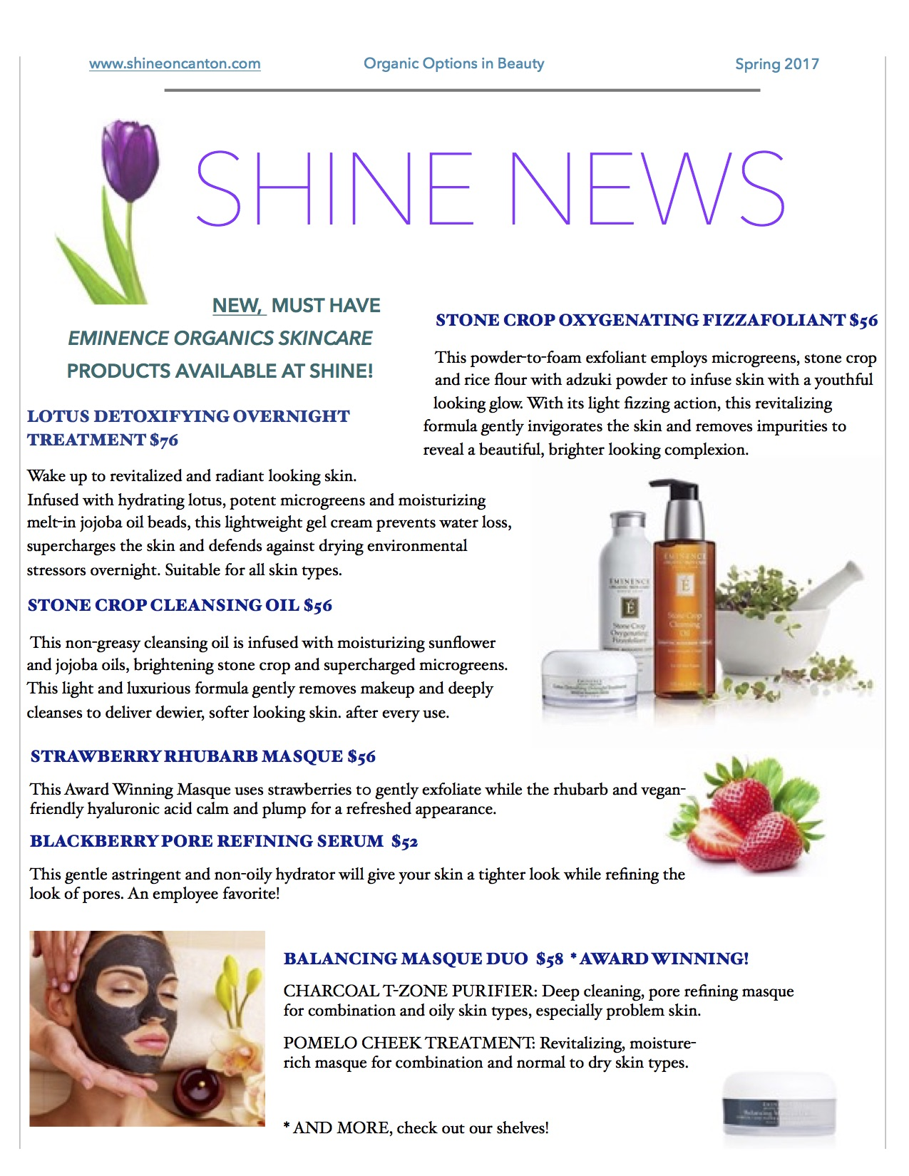 shine news