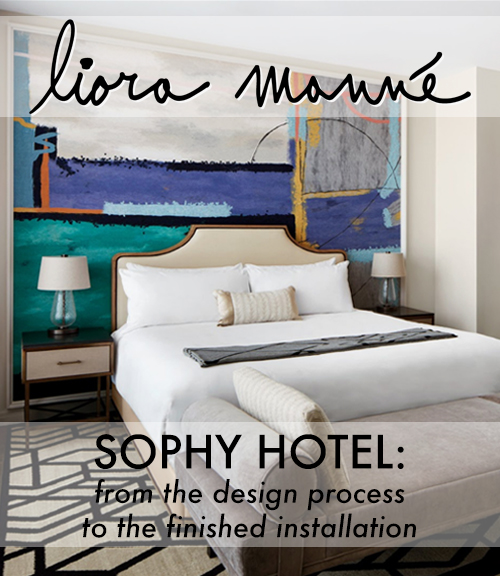 Click here for      The Sophy Hotel      brochure.    - Includes a visual narrative of the custom design process: from creation to application.