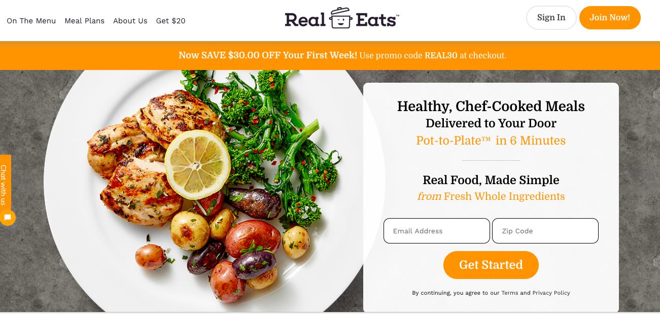 RealEats Website