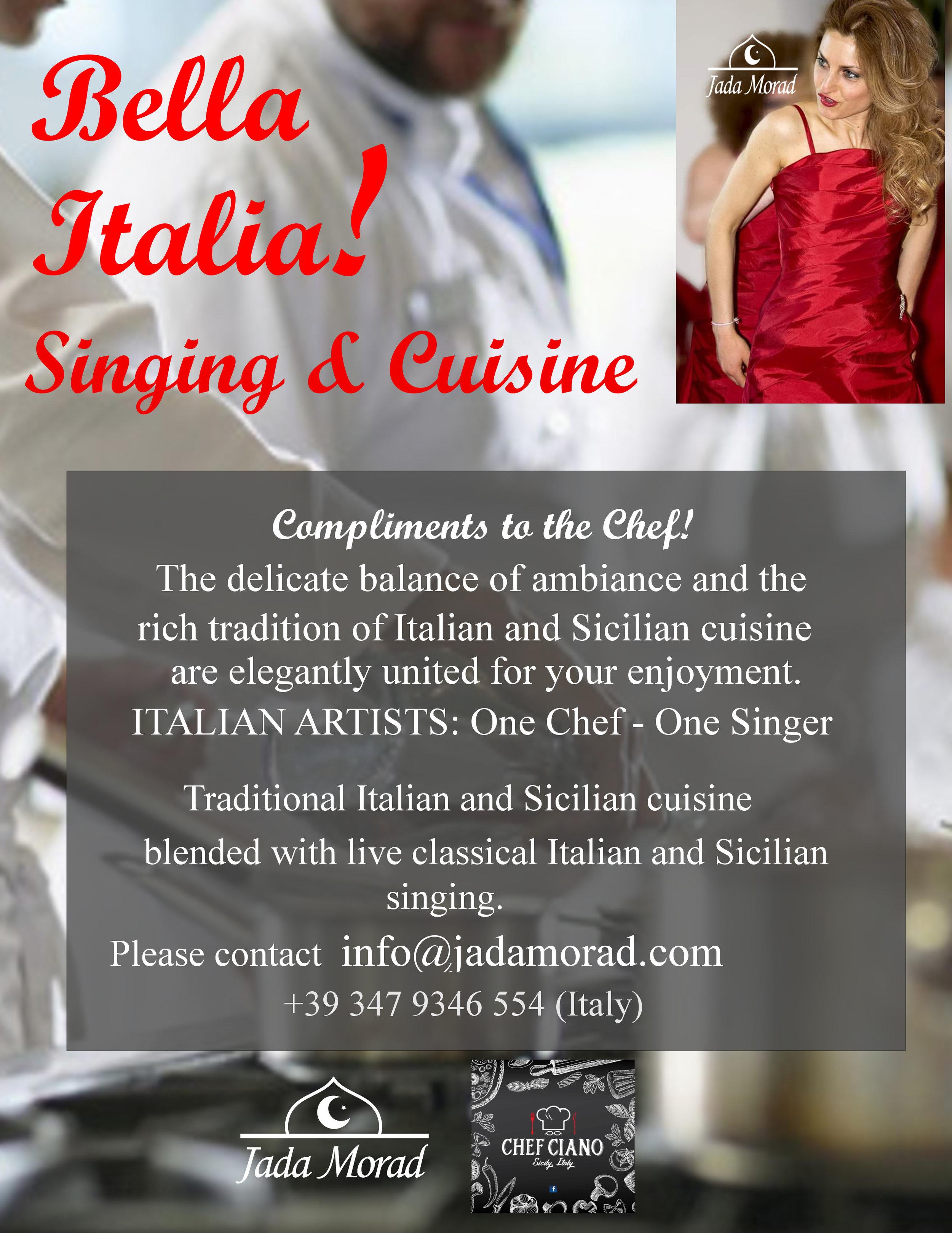 Bella Italia! Singing & Cuisine Official