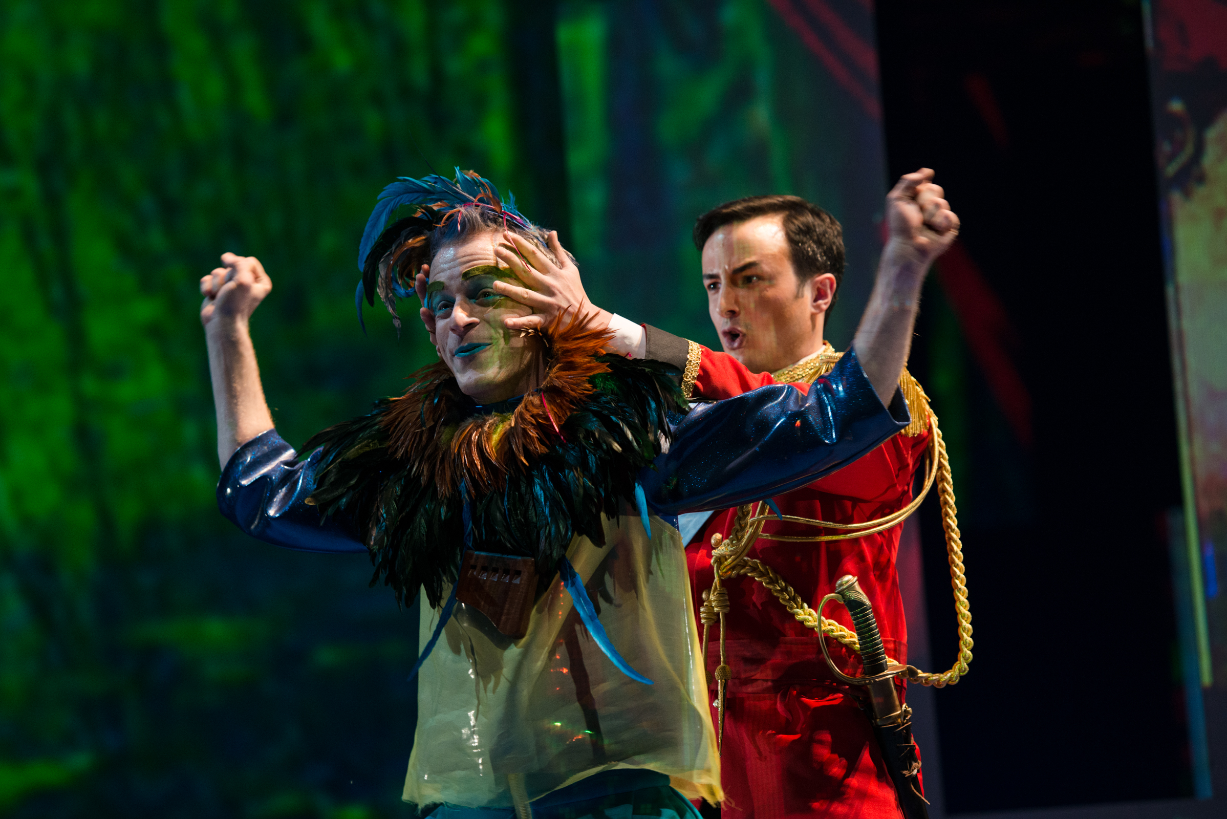 with  Olivier Gagnon  as Tamino