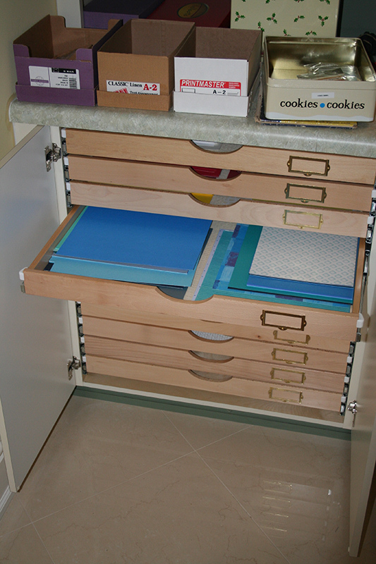Craft Room Storage Organize