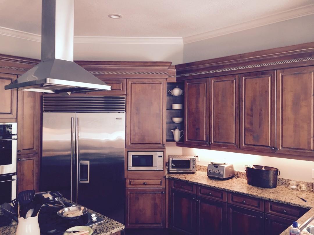 new kitchen cabinets insurance claim water damage.jpg