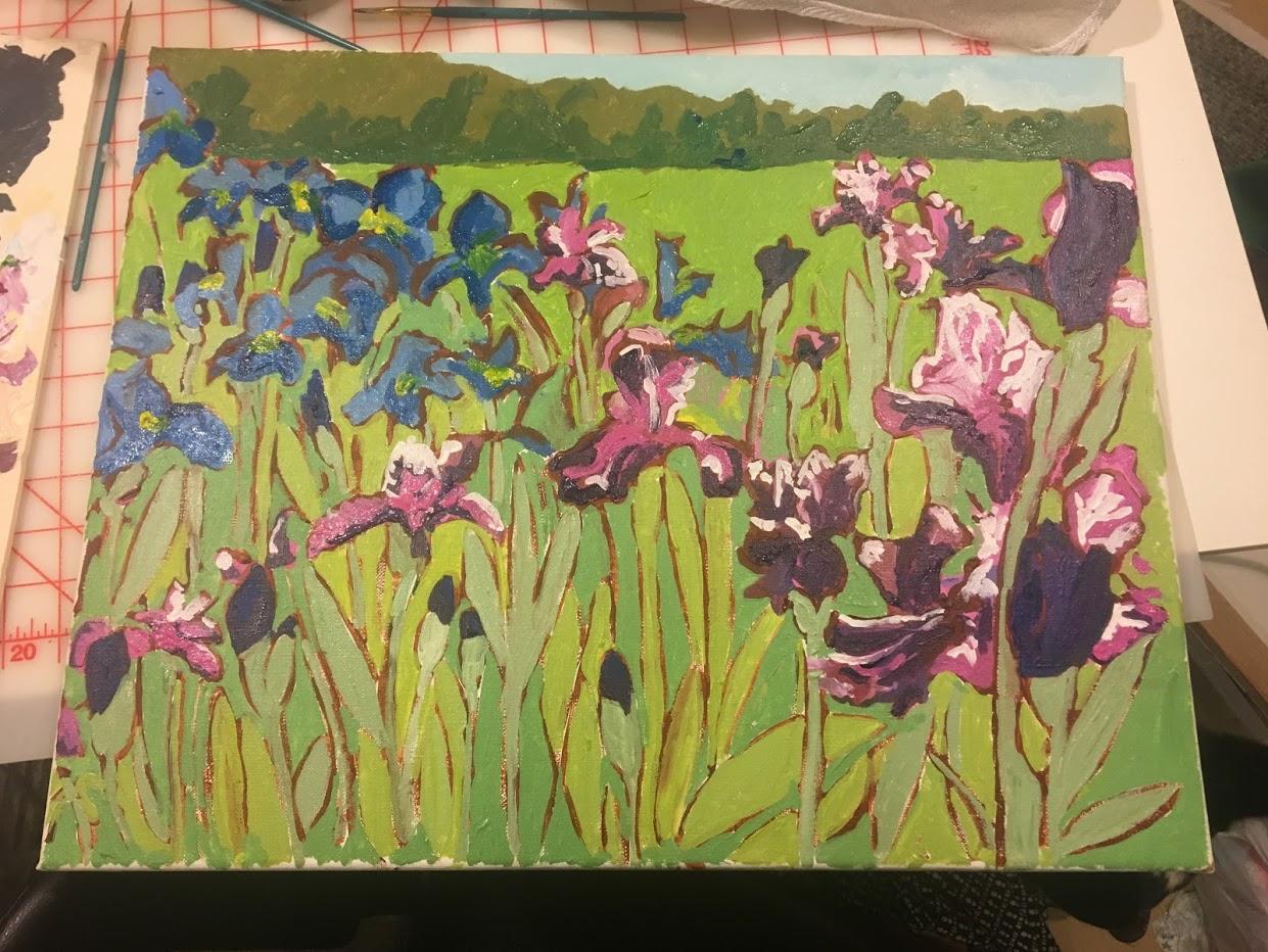 Iris in progress.JPG
