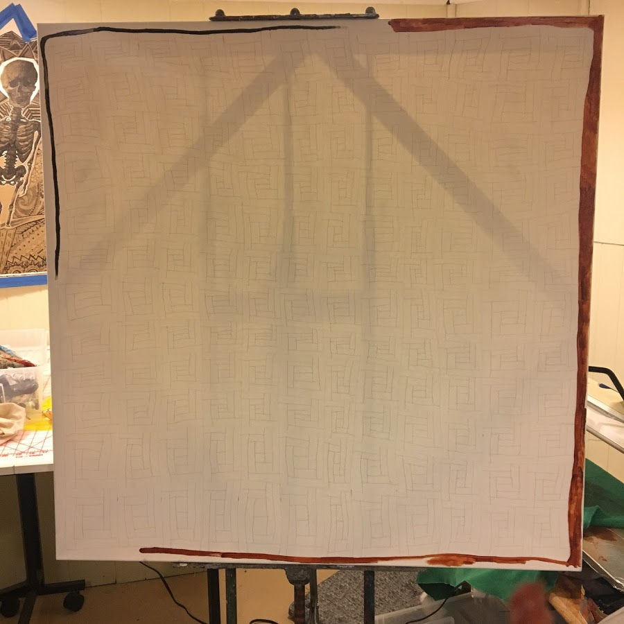 Log Cabin quilt in progress 5.JPG