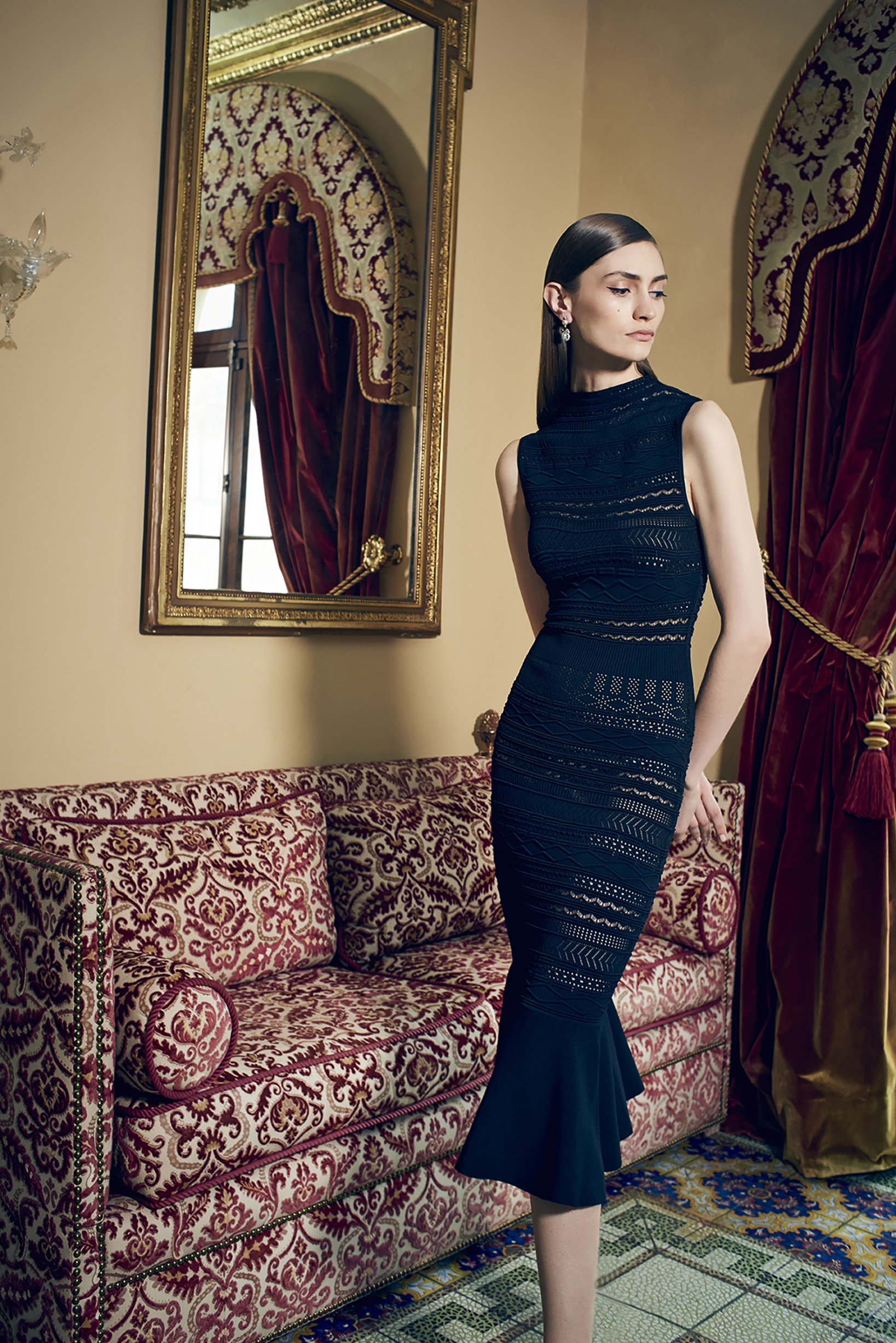 Alexis - Rilla Dress   Black
