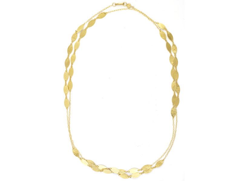 Gurhan - Long Willow Necklace   Gold