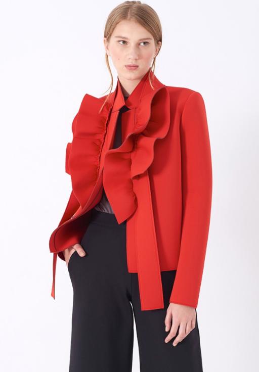 Marie Saint Pierre - Vesuvius Jacket   Red
