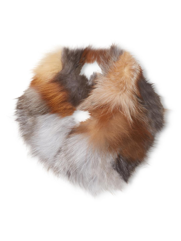 Adrienne Landau - Multi Fox Cowl   Natural