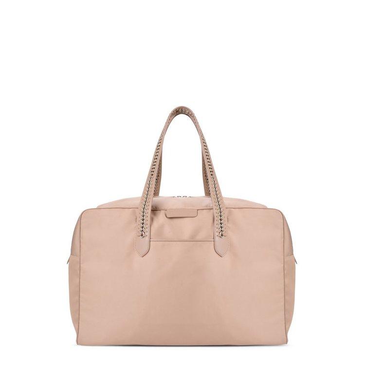 Stella McCartney Eco Nylon Falabella Go Bag   Beige