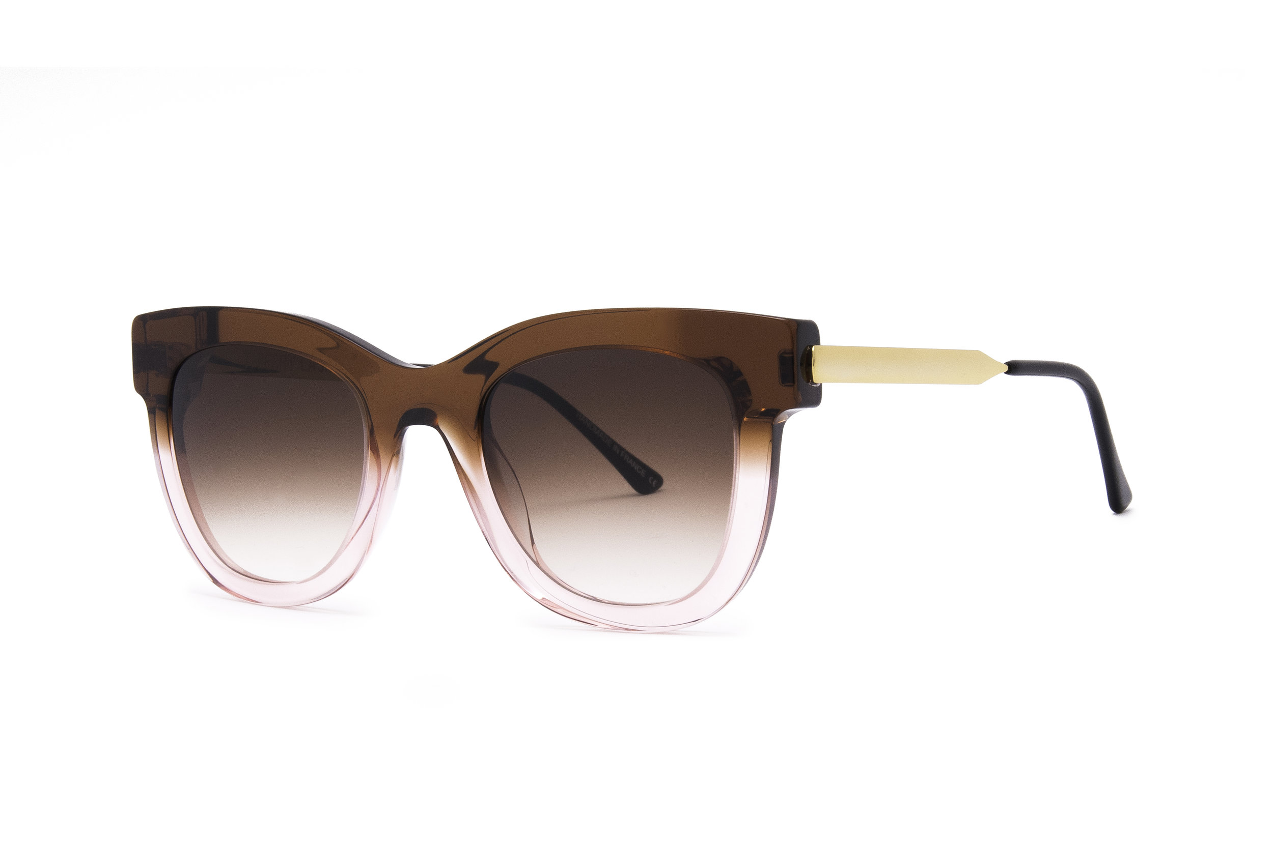 Thierry Lasry Sexxxy Gradient Sunglasses   Brown/Pink